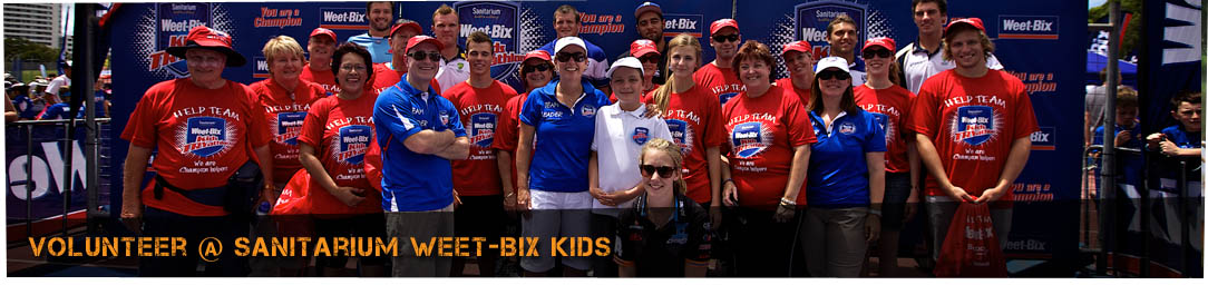 volunteer - weet-bix kids